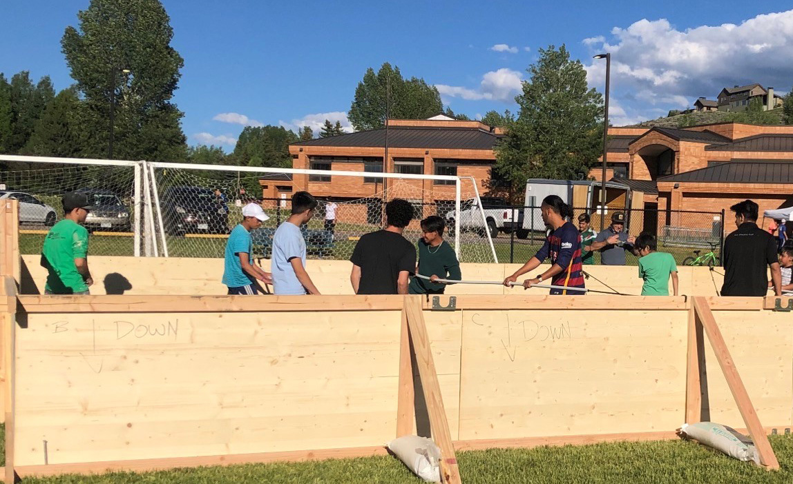 Human Foosball – Berry Creek Middle School